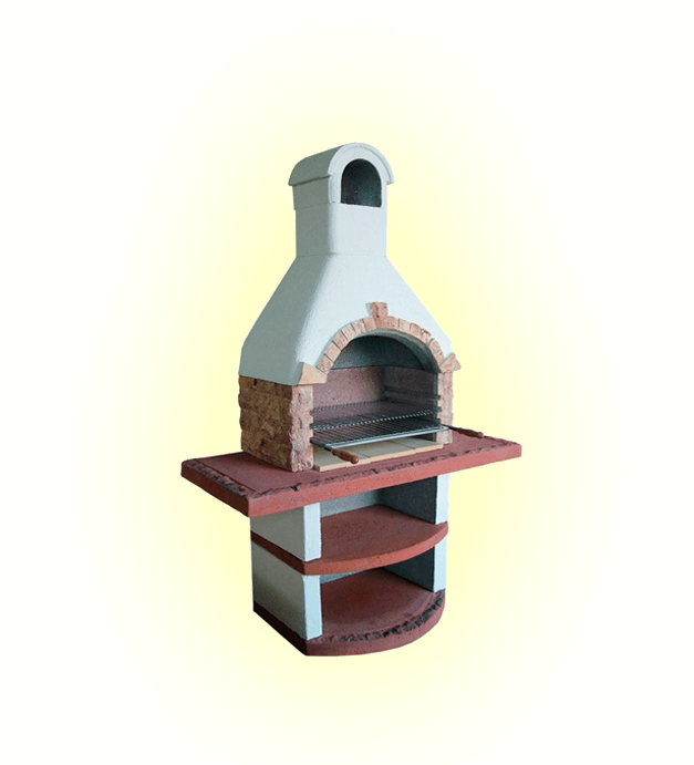 барбекю для дачи с мангалом